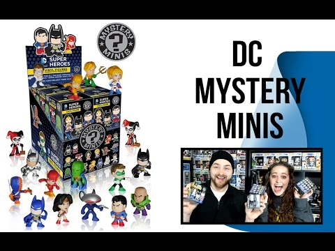 DC Mystery Mini Unboxing
