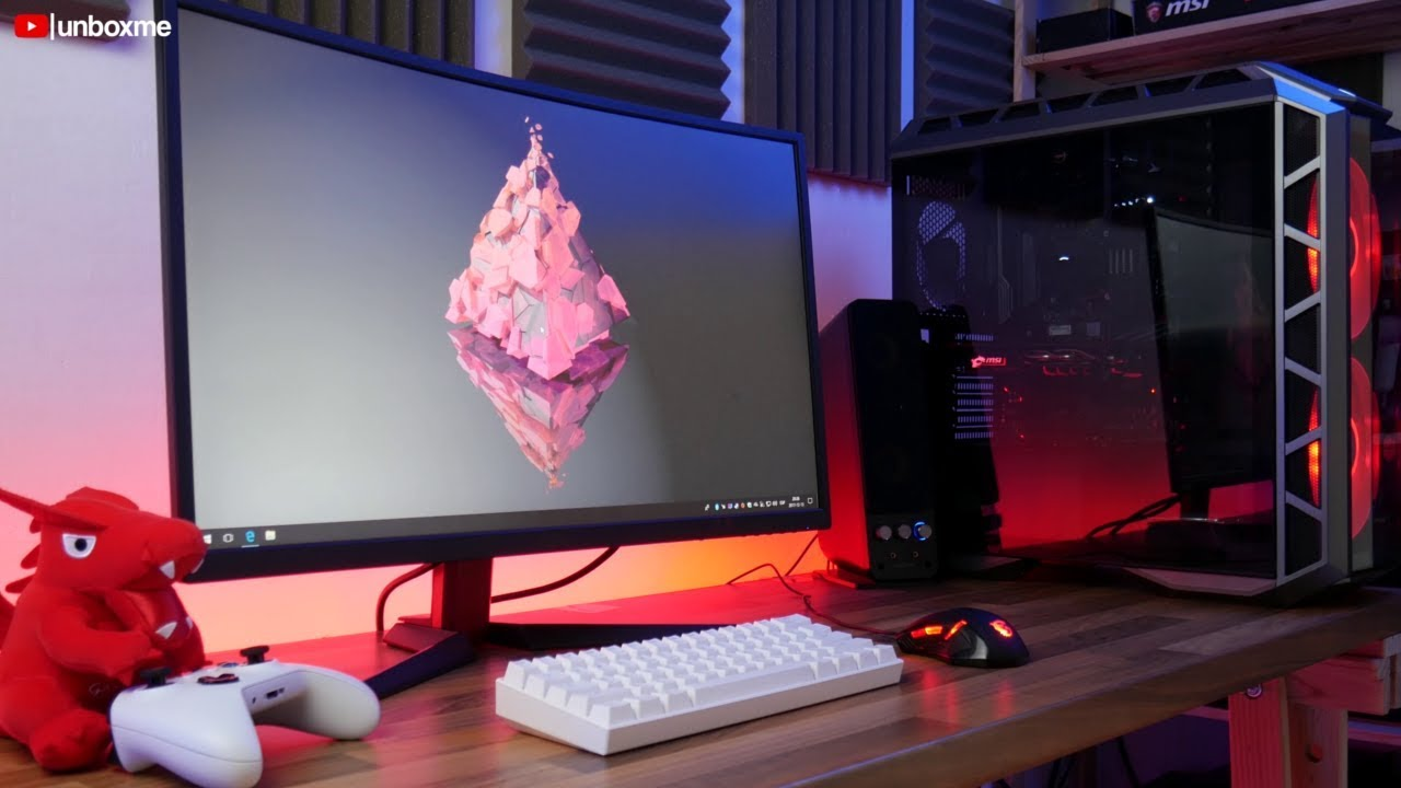 Monitor GAMING CURVO de 144hz - MSI Optix G27C analisis en español