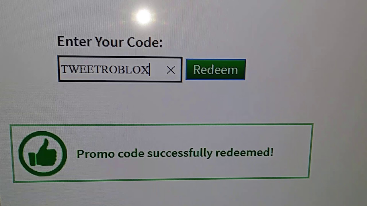 How To Put Roblox Promo Codes In Xbox 1 Youtube