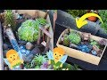 FAIRY GARDEN DIY CRAFT | HOW TO MAKE A MINIATURE FAIRY GARDEN TUTORIAL 2019
