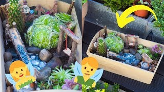 FAIRY GARDEN DIY | HOW TO MAKE A MINIATURE FAIRY GARDEN TUTORIAL 20...
