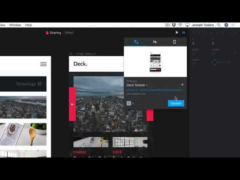 Publish And Share From InVision Studio | Tutorial