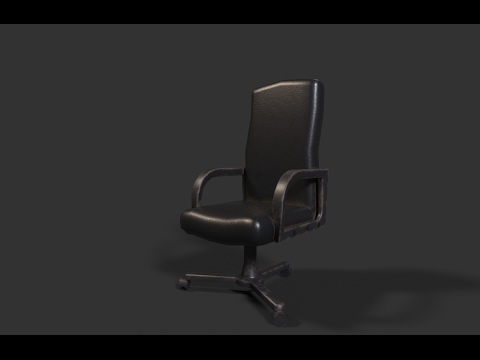 Modeling & Texturing chair 3ds max - Substance painter tutorial part - 1