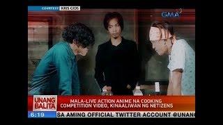 UB: Mala-live action anime na cooking competition video, kinaaliwan ng netizens