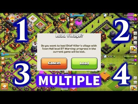 (ANDROID)HOW TO PLAY MULTIPLE ACCOUNTS IN CLASH OF CLANS