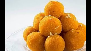 Laddu Home made sweet recipe with easy and quick method