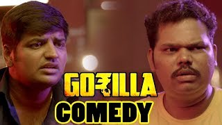 Gorilla Movie Comedy Scenes | Part 1 | Jiiva | Shanili Pandey | Sathish | Yogi Babu | Rajendran