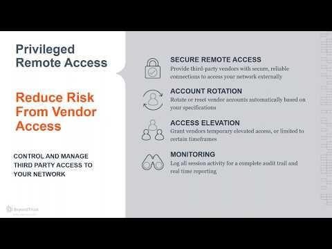 Demo Privileged Remote Access - YouTube
