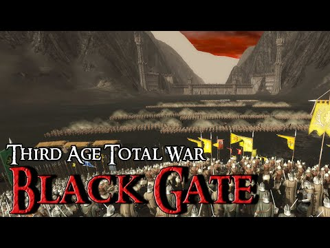 BATTLE OF THE BLACK GATE - Third Age Total War