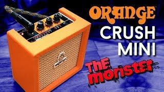 Orange Crush Mini - Full Review of a Mini Metal Monster