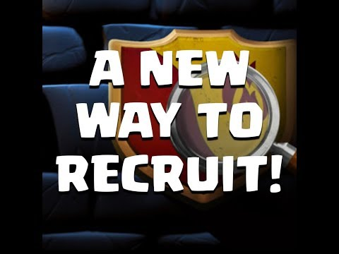 A New Way To Recruit For Clash Of Clans!!