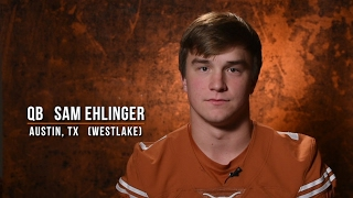 Sam ehlinger - texas football 2017 signing class [feb. 1, 2017]