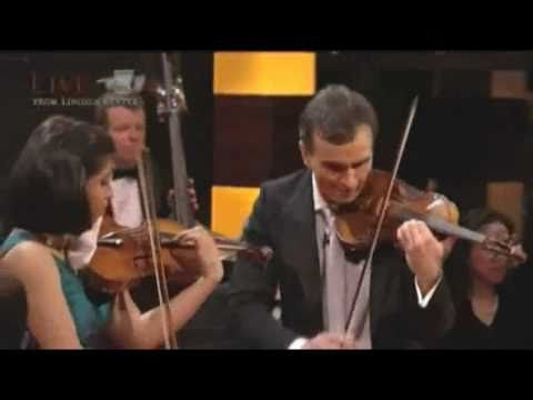 "Gil Shaham and Adele Anthony Sarasate ""Navarra"""
