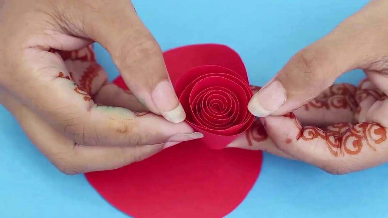 Making Paper Flower Hindi