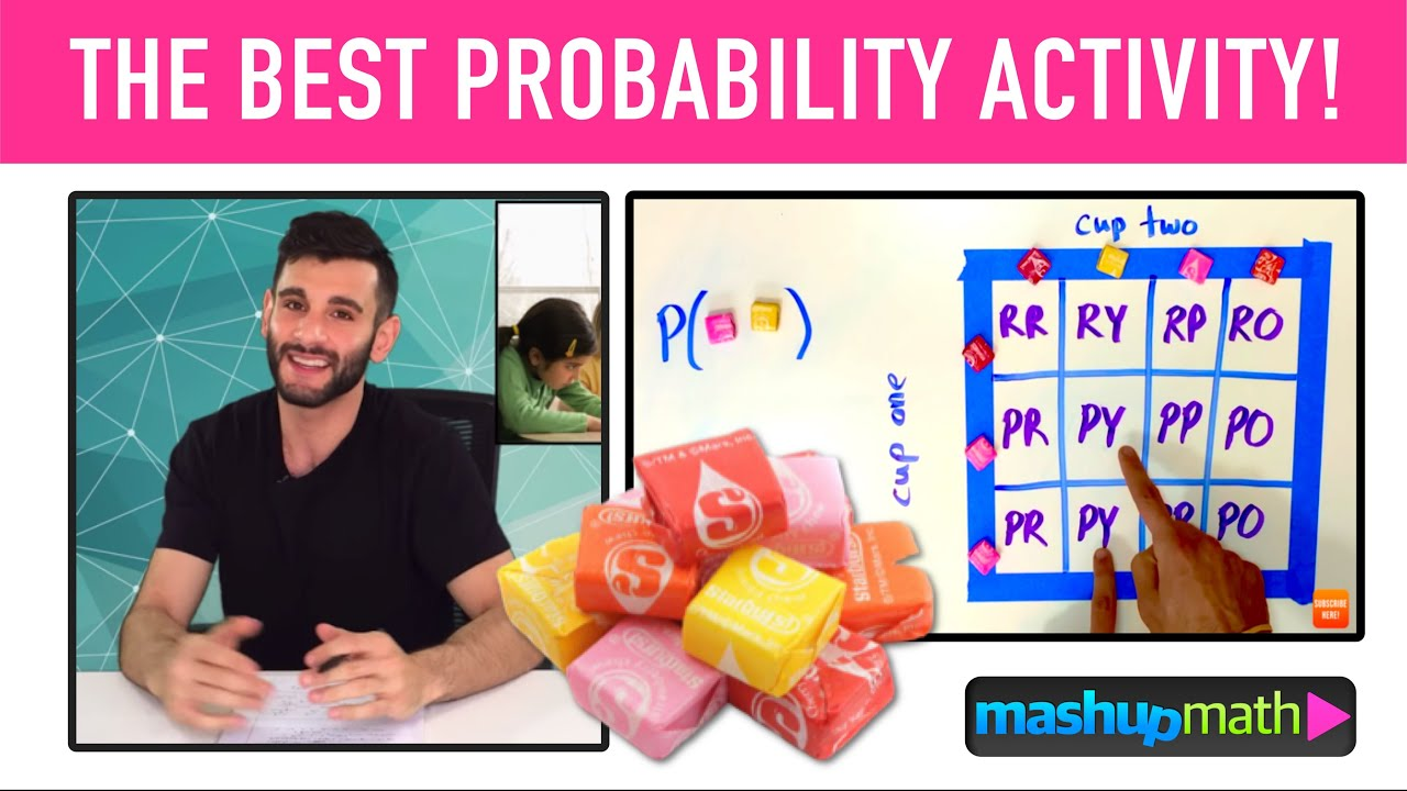 hight resolution of PROBABILITY MODEL MATH ACTIVITY! - YouTube
