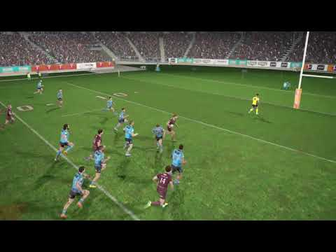 Rugby League Live 4 - Dylan Napa Try
