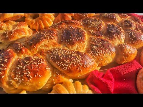 how-to-make-homemade-brioche---recette-brioche-fait-maison- -بريوش-هش-وسهل---العجينة-القطنية