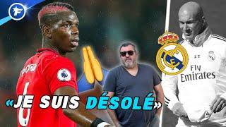 L'agent de Paul Pogba s'excuse pour son transfert raté au Real Madrid | Revue de presse