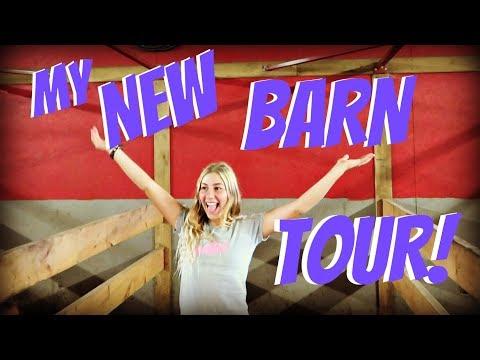 MY NEW BARN TOUR!