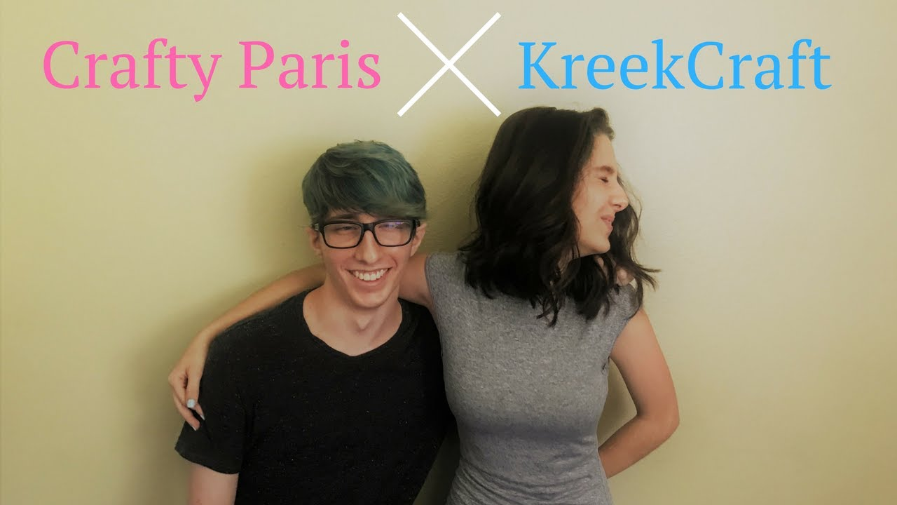 live stream crafty paris kreekcraft youtube. Black Bedroom Furniture Sets. Home Design Ideas