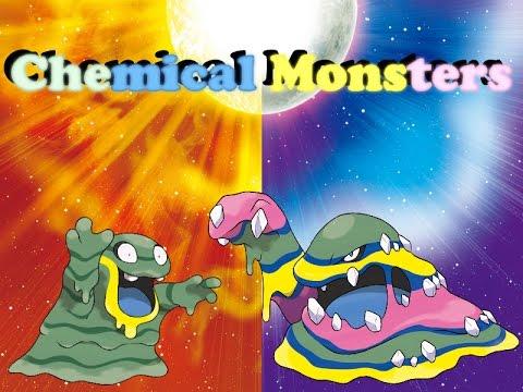 Pokemon Sun and Moon - Alola Grimer and Alola Muk Biology - YouTube