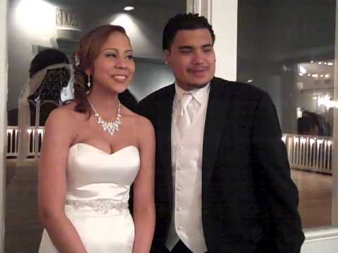 Israel and Jocelyn's Beautiful Wedding with Catering by Uptown