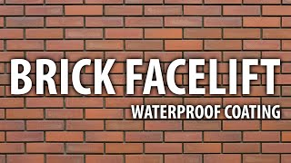 BRICK BUILDING FACELIFT - WATERPROOF COATING