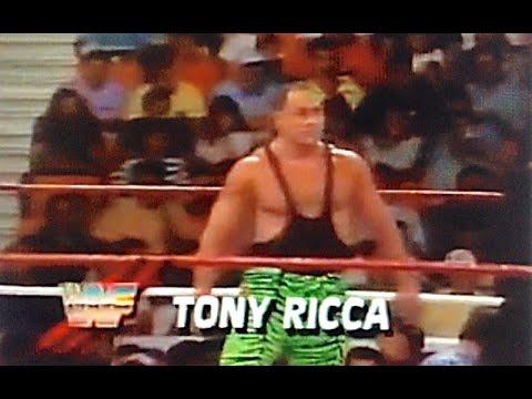 Tony Ricca vs Hacksaw Jim Duggan