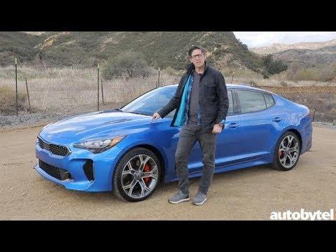 2018 Kia Stinger GT Test Drive Video Review