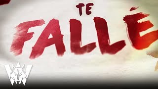 Te Fallé, Wolfine - Video Lyric