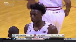 OG Anunoby Highlights Indiana vs. UNC 11.30.2016 (16 PTS,  5 REB, 2 AST, 2 BLKS)