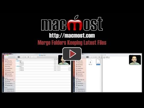 Merge Folders Keeping Latest Files (#1339)