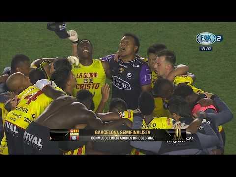 Resumen - Santos vs Barcelona - Copa Libertadores 2017 - Cuartos de final