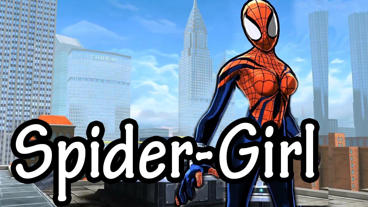 spiderman unlimited spidergirl suit overviewshowcase