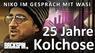 """Niko und Wasi über 25 jahre Kolchose und das Projekt """"25K""""."""