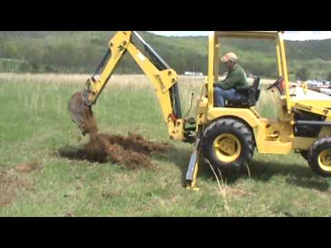 Terramite T9 Compact Tractor Loader Backhoe Diesel 10 Dig Kubota For Sale Mark Supply Co Youtube