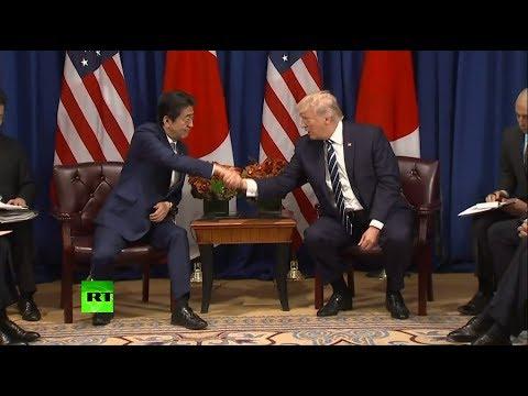 Trump announces executive order sanctioning DPRK