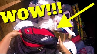 Dumpster Diving JACKPOT|  You Will Not Believe What's In The Bag