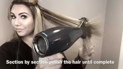 How to PROPERLY detangle & Style Keratin Bond Hair Extensions!