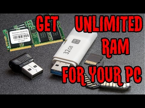How to Increase RAM in PC | Use Pendrive as RAM Upgrade | Free More Unlimited RAM for PC