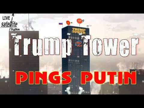 Russian Satellite Dish Spotted on Trump Tower in New York ? (Spoof)