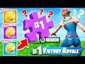 CAN YOU FIND the PUZZLE PIECES *NEW* Game Mode in Fortnite Battle Royale