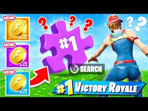 COLLECT the PUZZLE PIECES *NEW* Game Mode in Fortnite Battle Royale