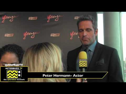 TV Land's Season 4 Premiere Red Carpet for Younger  Peter Hermann