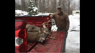 Maine deer hunting, tracking em down in 2018