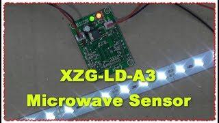 XZG-LDK-6 Датчик Доплера Microwave Sensor тест и обзор