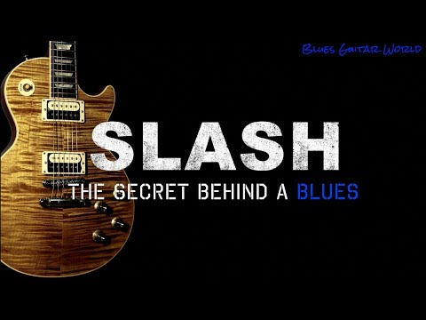 Slash – Guitar Lesson – Blues with B.B. King
