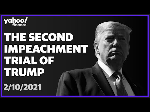 LIVE: Trump's second impeachment trial: February 10, 2021 (DAY 2)