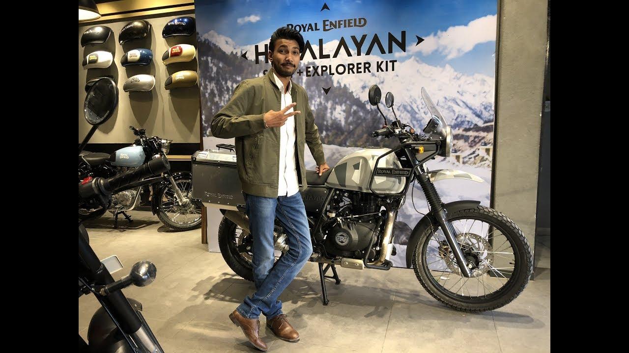 Royal Enfield Himalayan Sleet Explorer 2018 Youtube