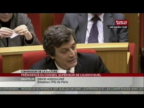 Audition d'Olivier Schrameck, par la commission de la culture, pour ratif... - AUDITION (23/01/2013)